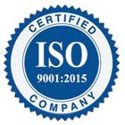 ISO 9001:2015 - Certified Company
